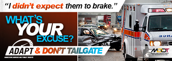 When it comes to safe driving, there are no excuses