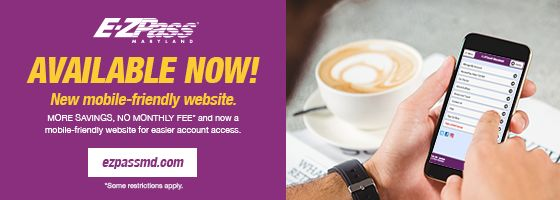 E-ZPass Maryland launches NEW mobile website! Wherever you go, accessing your account is easier than ever.