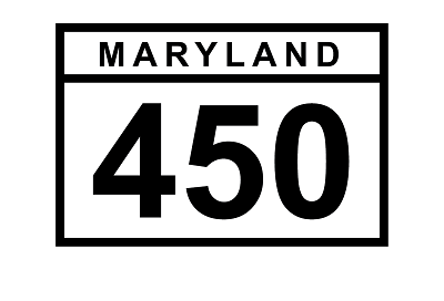 MD 450 sign