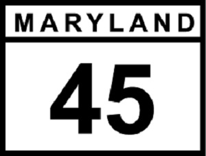 MD 45 sign
