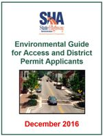 MDOT SHA Environmental Guide for Access & District Permit Applicants