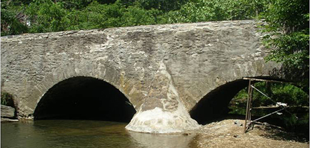 The Parkton Stone Arch Bridge